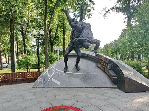 Памятник борьбе самбо