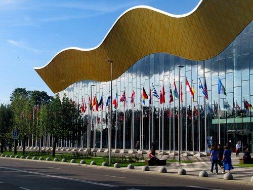 Центр Художественной гимнастики Ирины Винер открылся только 18 июня...