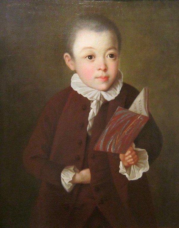 Неизвестный художник. Портрет Н. А. Янькова. 1770 год.