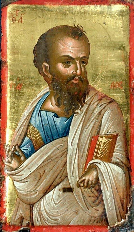 Святой Апостол Павел. Кипрская икона XVI века (?).