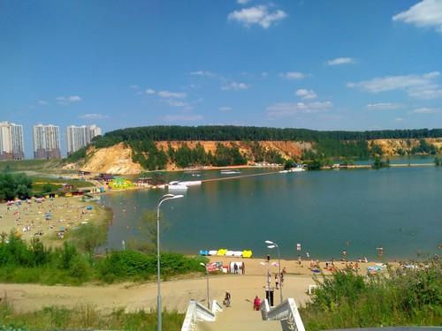 Лето в Дзержинском.