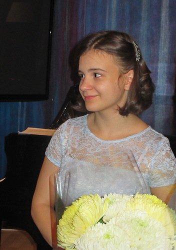 Полина Губернаторова, школьница, сопрано