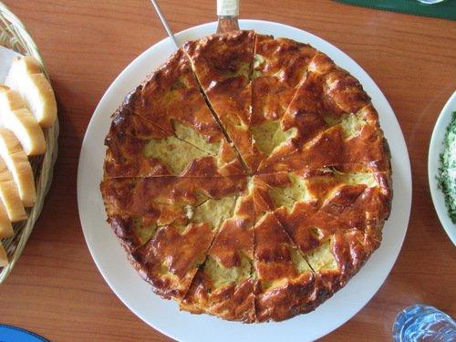 Пирог с капустой к 23 февраля