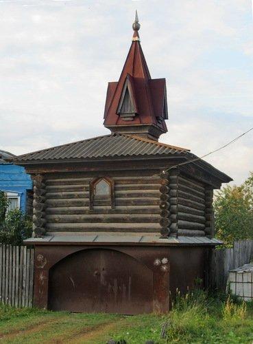 Деревенский гараж