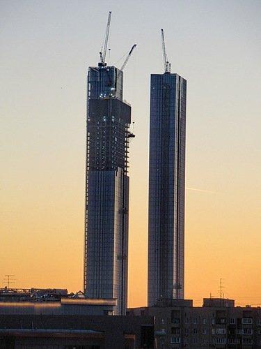 Растущие небоскребы