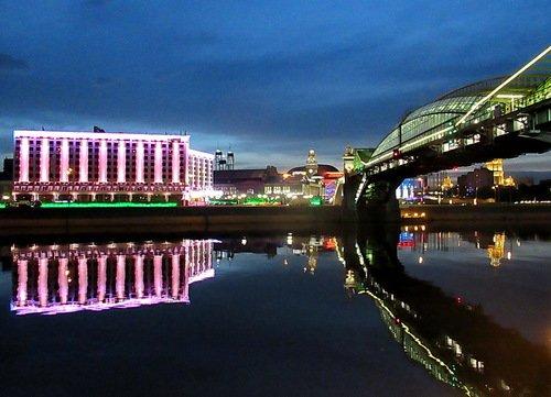 Гостиница, вокзал, мост