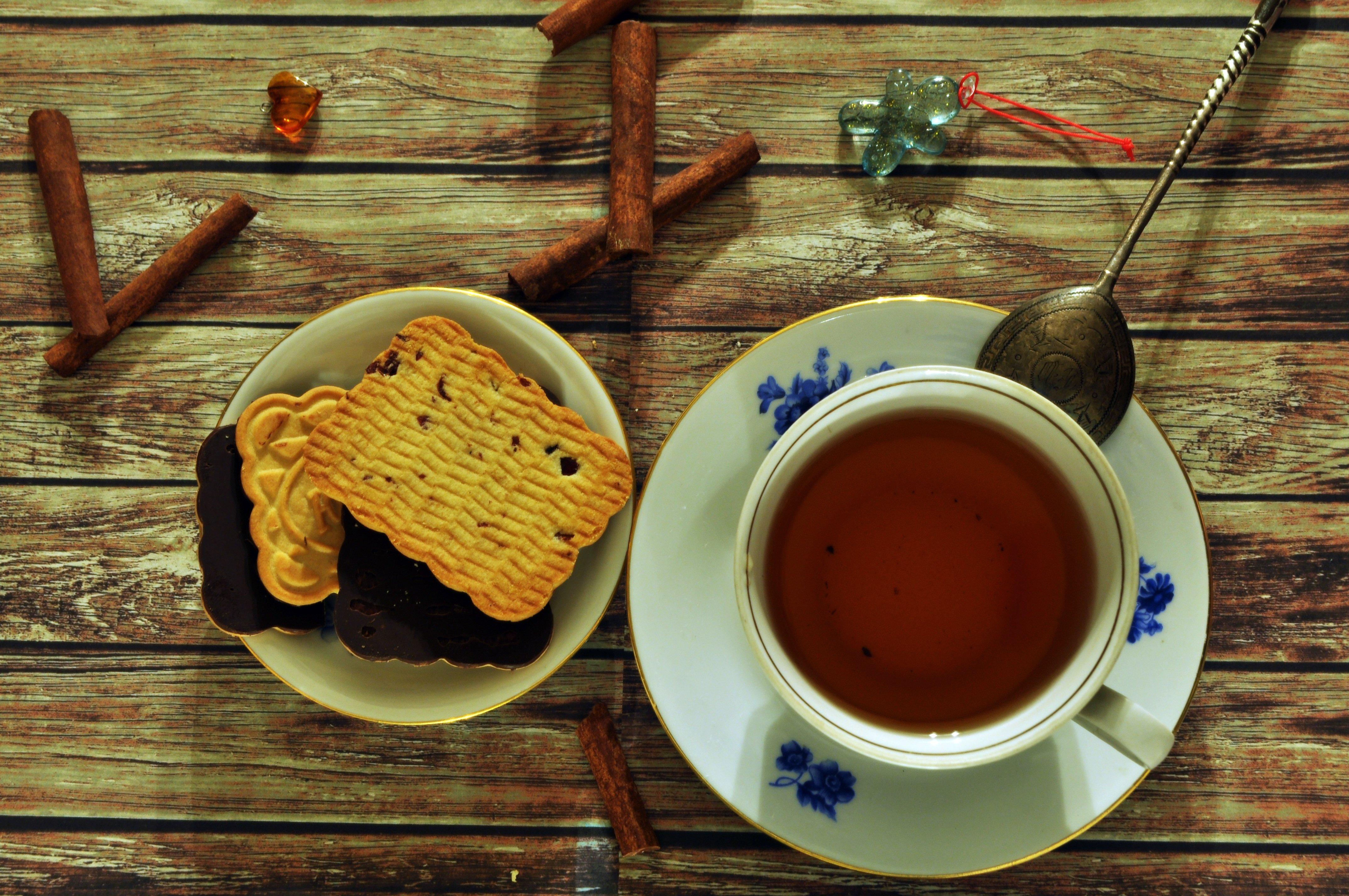Сентября идеи, чай с печеньками открытки