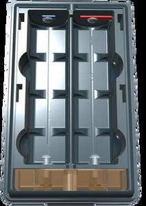 Battary case 2x18650 for Yaesu FT-60, VX-120, VX-150, VX-170,FT-270, FT-277
