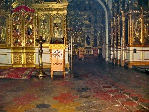 Интерьер церкви Владимира равноапостольного