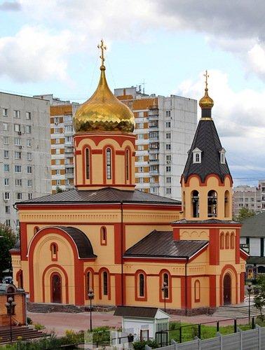 Церковь Иконы Божией Матери Всецарица в Щербинке