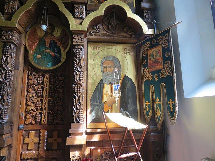 Церковь Серафима Саровского в городе  Светлогорске