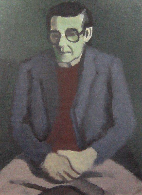 Тимофей Фёдорович Теряев (1919-2001 гг.). Портрет Лютова.