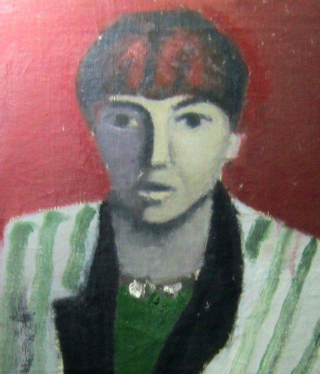 Тимофей Фёдорович Теряев (1919-2001 гг.). Женский портрет. 1989 год.