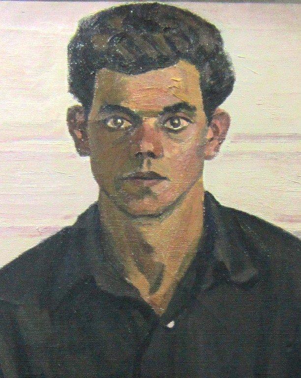 Тимофей Фёдорович Теряев (1919-2001 гг.). Портрет Саши. 1962 год.