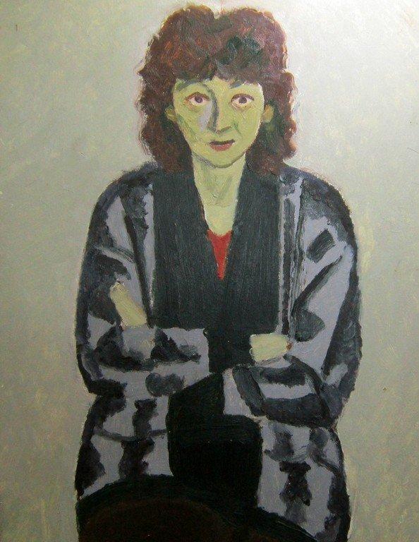 Тимофей Фёдорович Теряев (1919-2001 гг.).  Лида. 1986 год.