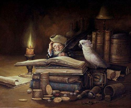 Кошки-мышки и попугаи