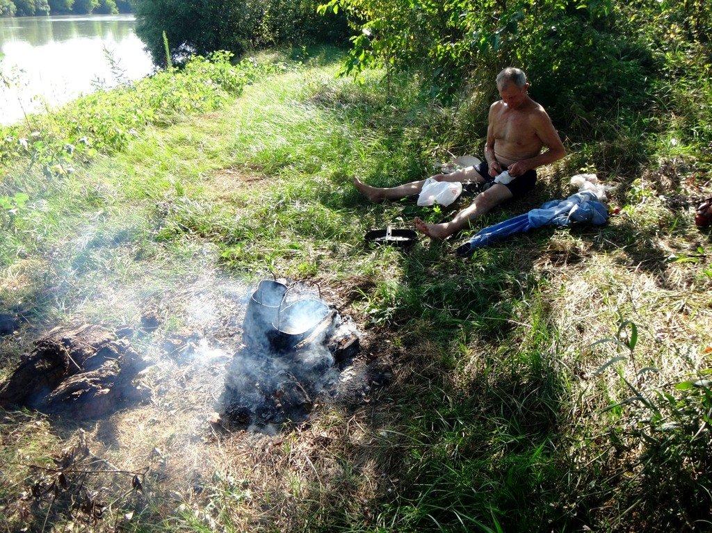 В походе лодочном... август, река Кубань 004 002