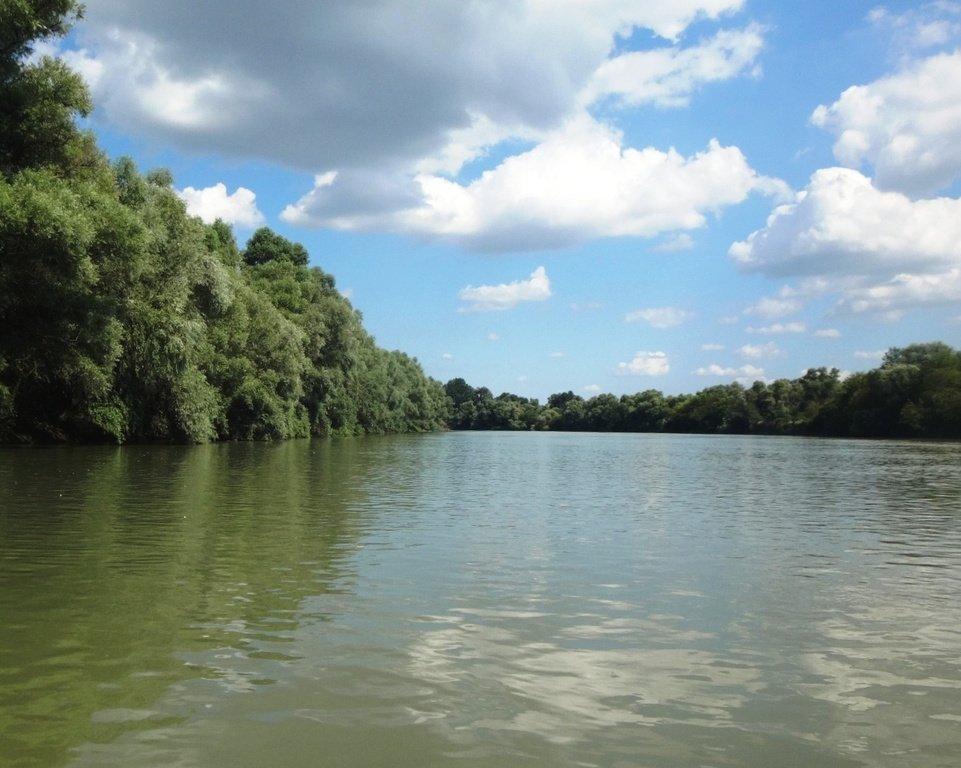 В походе лодочном... август, река Кубань 005 009