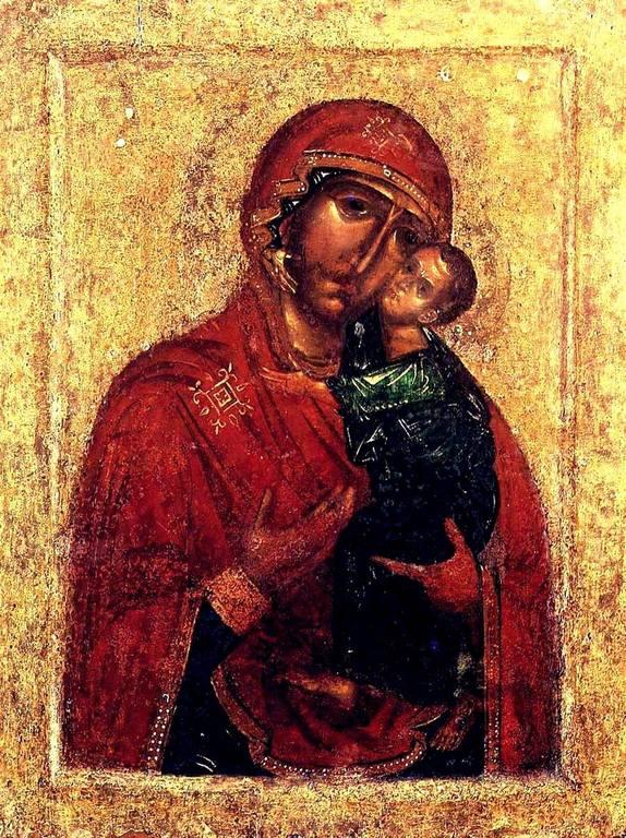 Чудотворная Толгская икона Божией Матери. Около 1314 года.