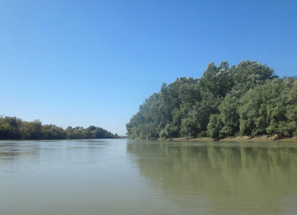 В походе лодочном... август, река Кубань 011 007