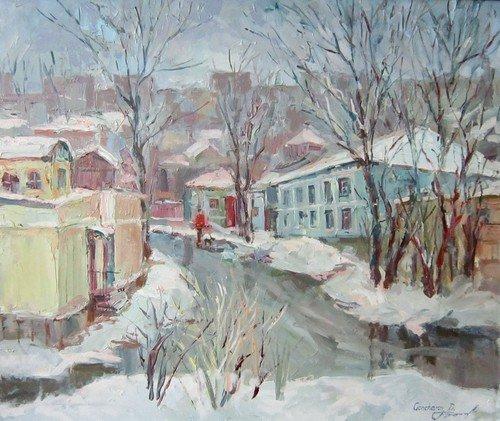 Дмитрий Гончаров. Тёплая зима. 2016 год.