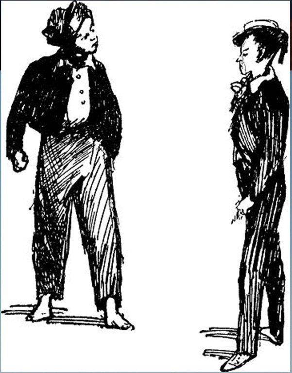 Иллюстрация В. Н. Горяева к пр-ю М.Твена Приключения Тома Сойера (4).