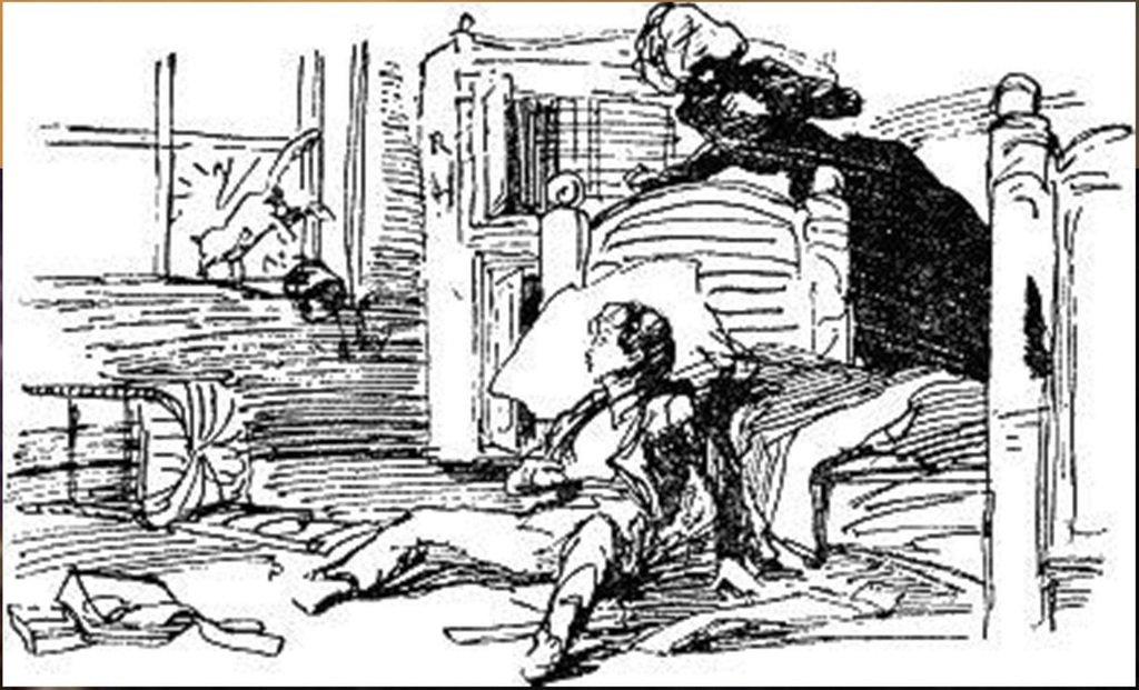 Иллюстрация В. Н. Горяева к пр-ю М.Твена Приключения Тома Сойера (22).