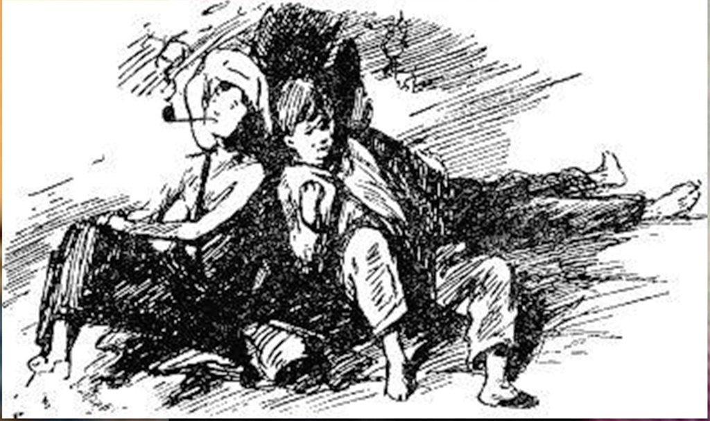 Иллюстрация В. Н. Горяева к пр-ю М.Твена Приключения Тома Сойера (23).