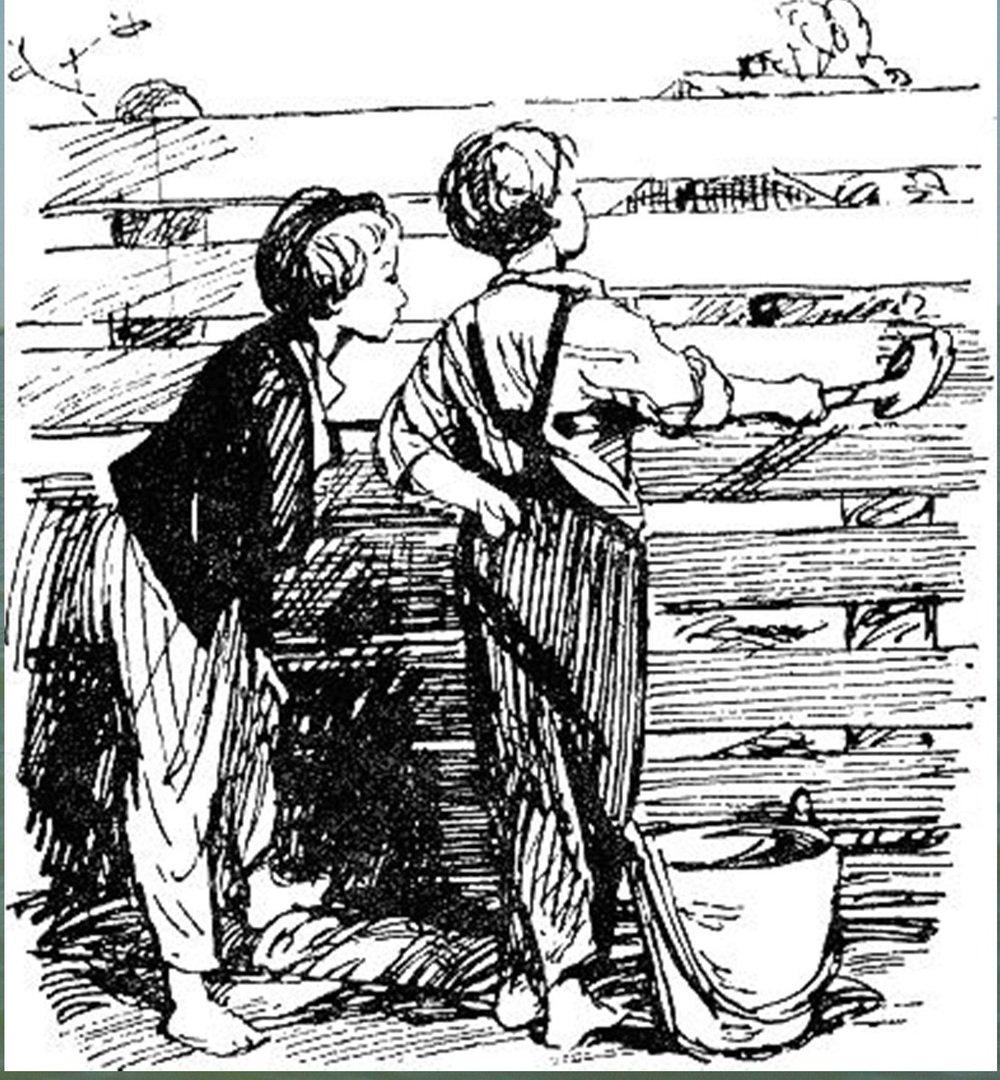 Иллюстрация В. Н. Горяева к пр-ю М.Твена Приключения Тома Сойера (6).