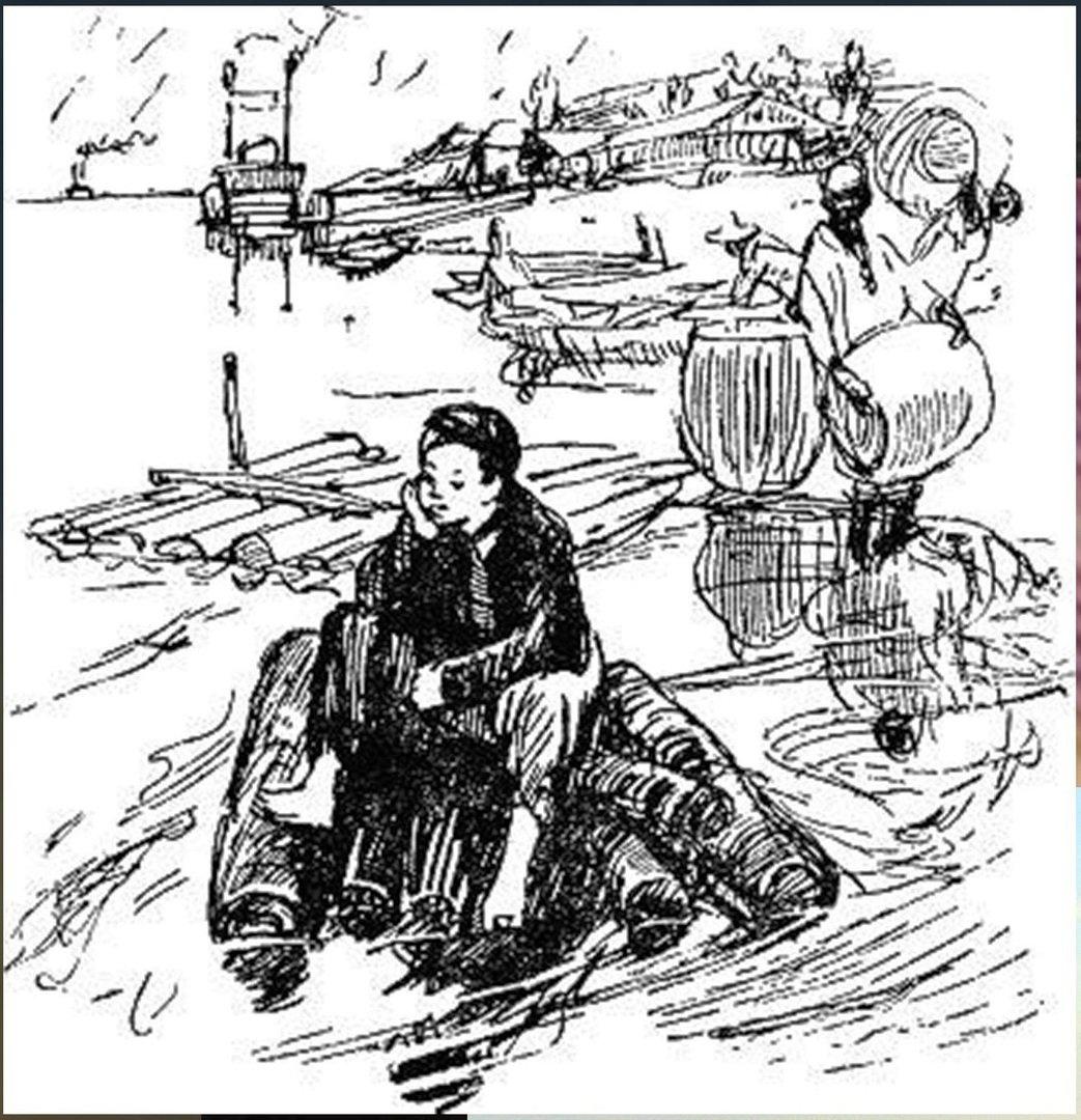 Иллюстрация В. Н. Горяева к пр-ю М.Твена Приключения Тома Сойера (8).