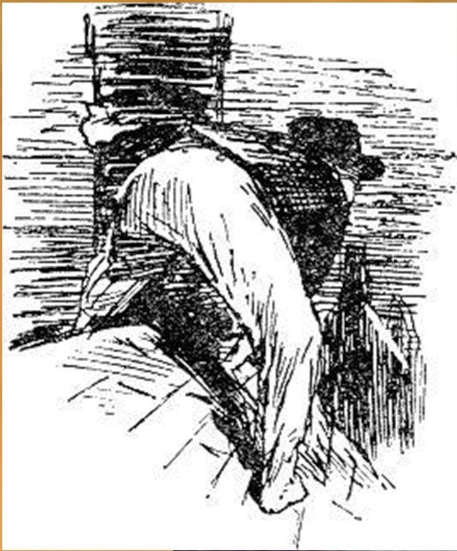Иллюстрация В. Н. Горяева к пр-ю М.Твена Приключения Тома Сойера (20).