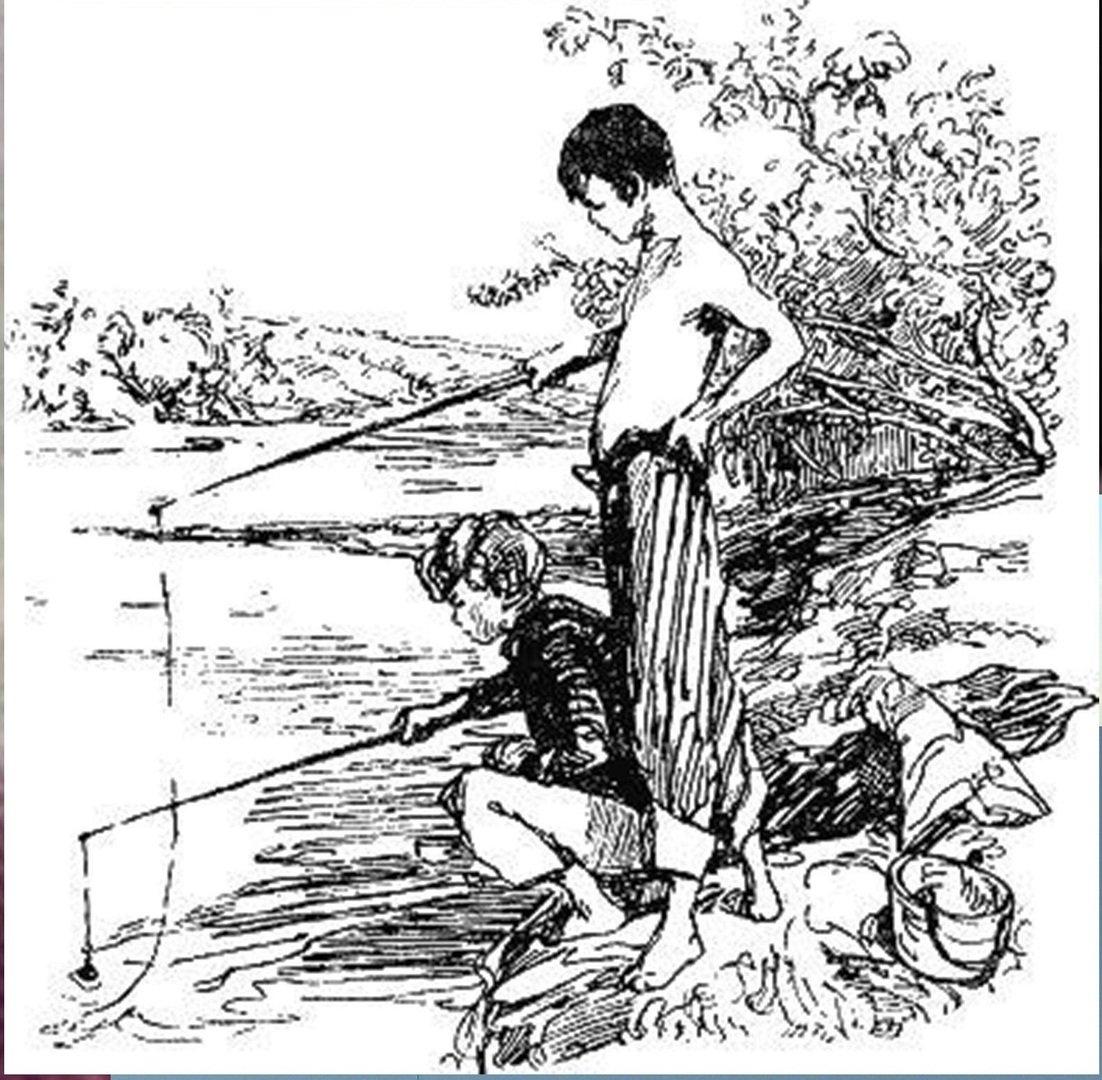 Иллюстрация В. Н. Горяева к пр-ю М.Твена Приключения Тома Сойера (24).