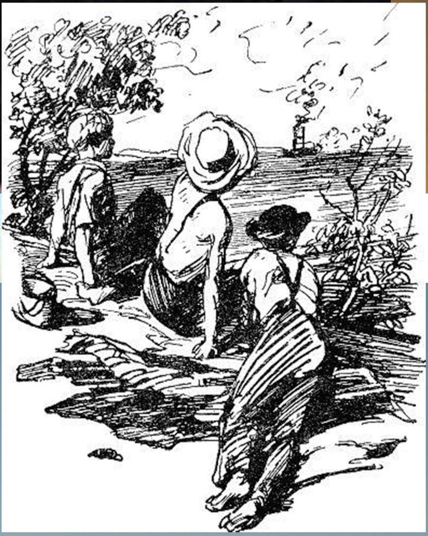 Иллюстрация В. Н. Горяева к пр-ю М.Твена Приключения Тома Сойера (25).