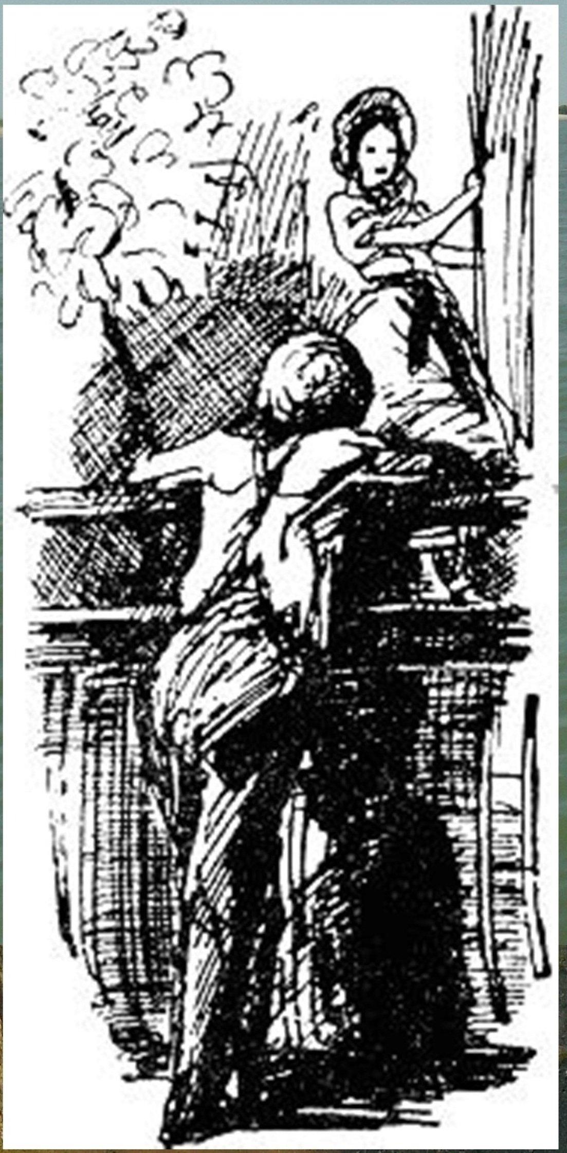 Иллюстрация В. Н. Горяева к пр-ю М.Твена Приключения Тома Сойера (7).