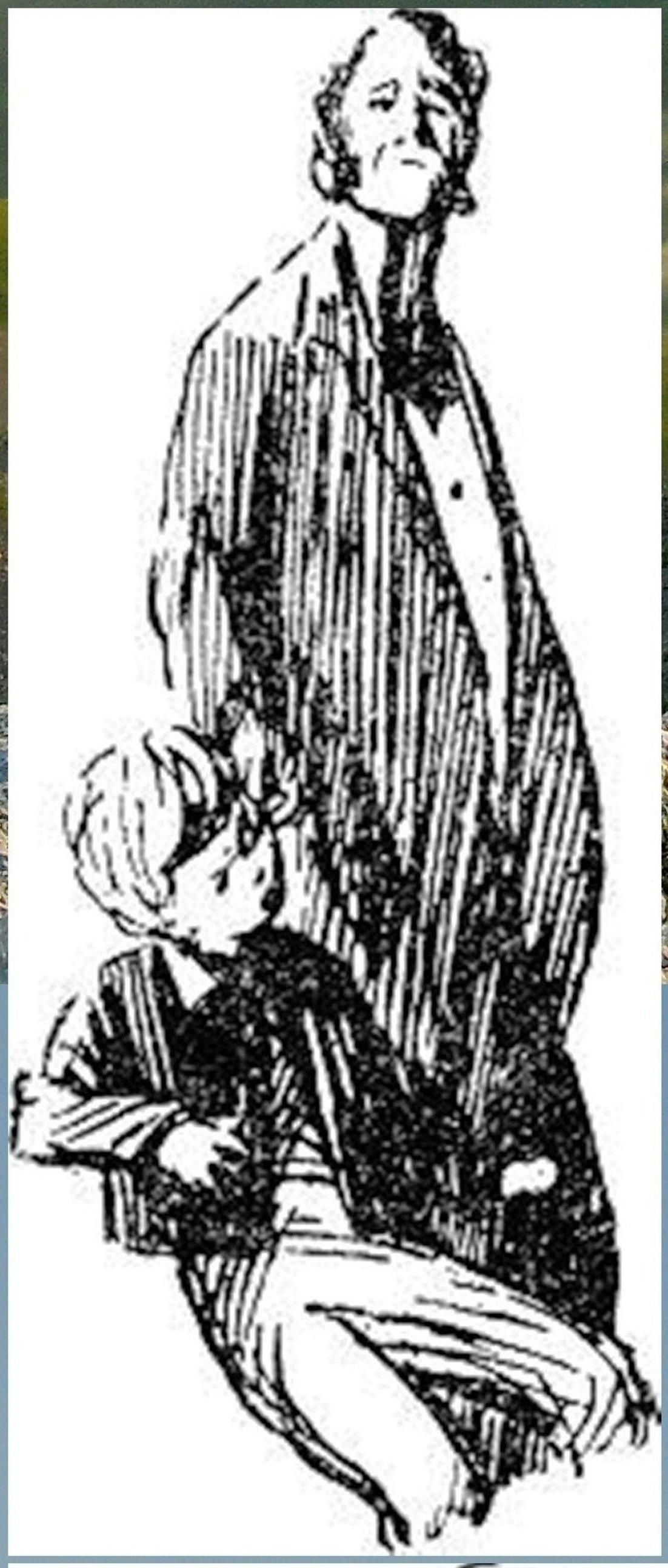 Иллюстрация В. Н. Горяева к пр-ю М.Твена Приключения Тома Сойера (18).