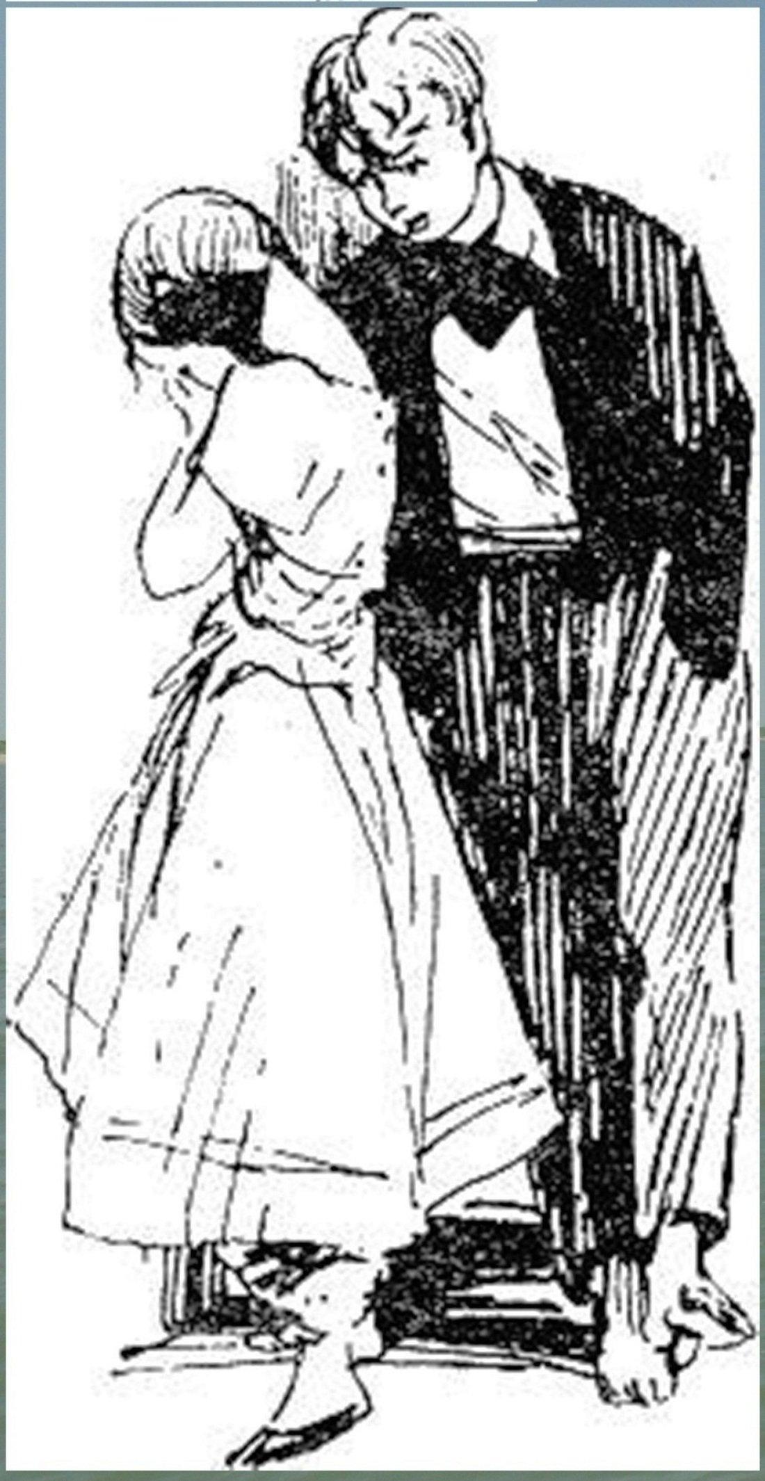 Иллюстрация В. Н. Горяева к пр-ю М.Твена Приключения Тома Сойера (19).