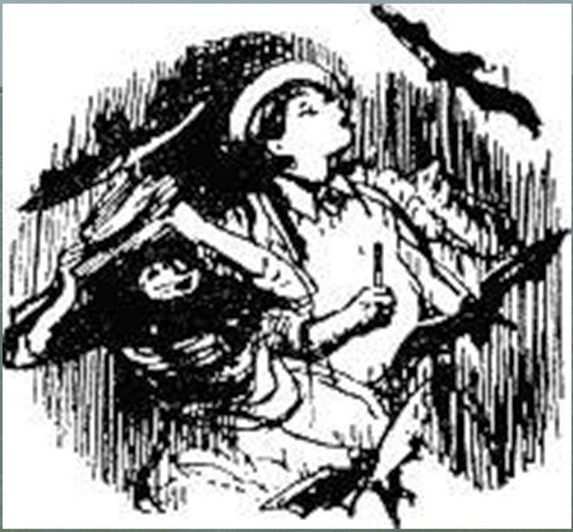 Иллюстрация В. Н. Горяева к пр-ю М.Твена Приключения Тома Сойера (37).