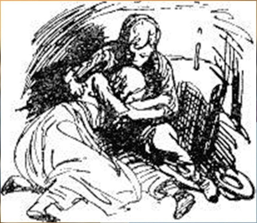 Иллюстрация В. Н. Горяева к пр-ю М.Твена Приключения Тома Сойера (38).