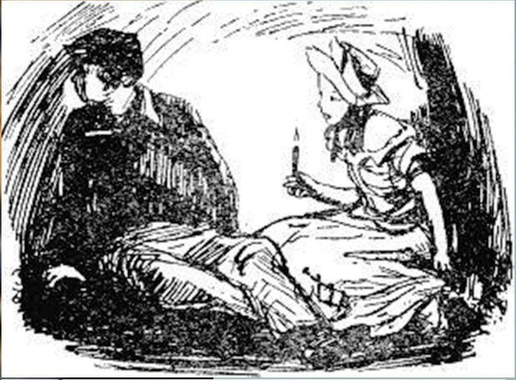 Иллюстрация В. Н. Горяева к пр-ю М.Твена Приключения Тома Сойера (39).