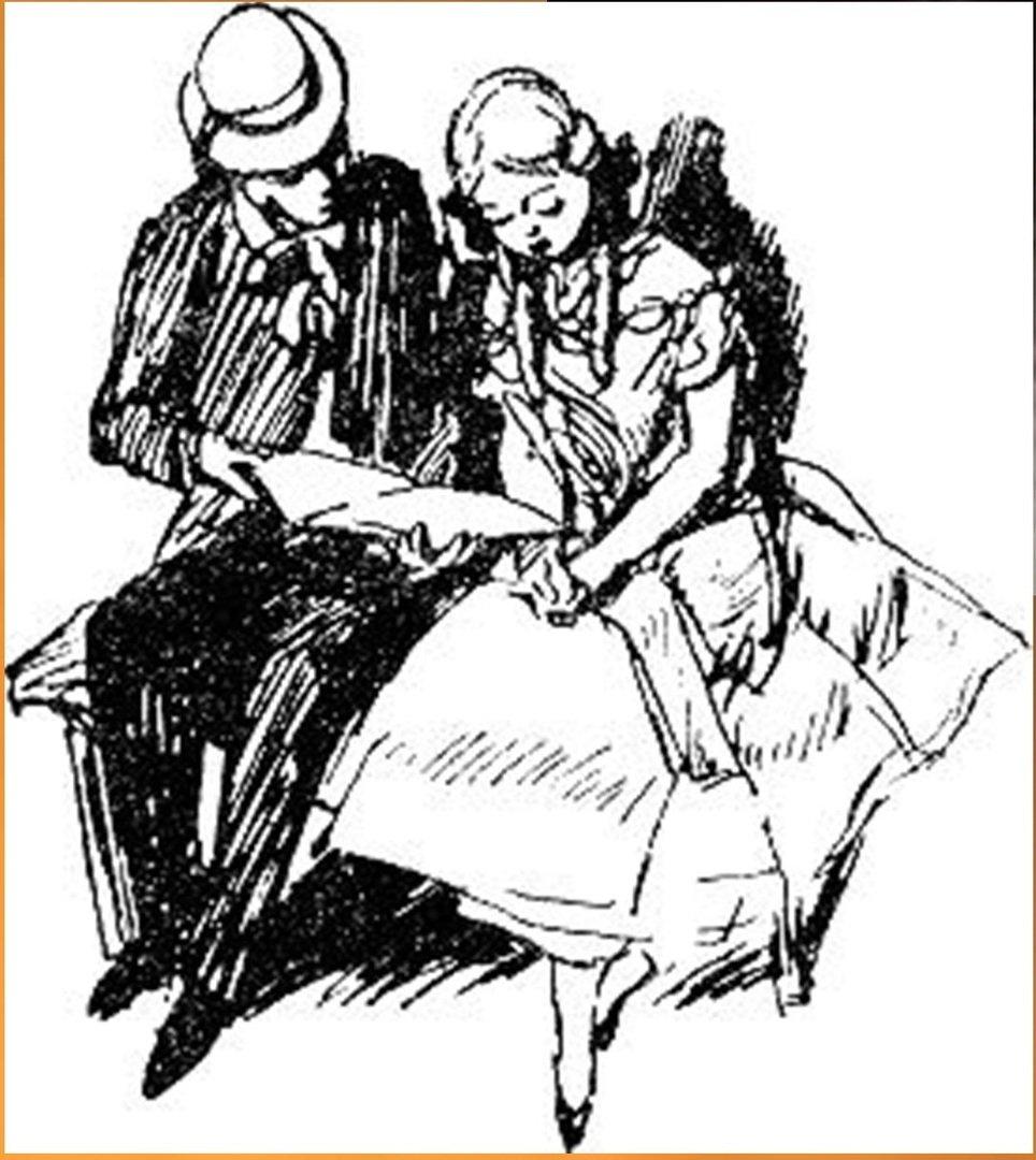 Иллюстрация В. Н. Горяева к пр-ю М.Твена Приключения Тома Сойера (28).