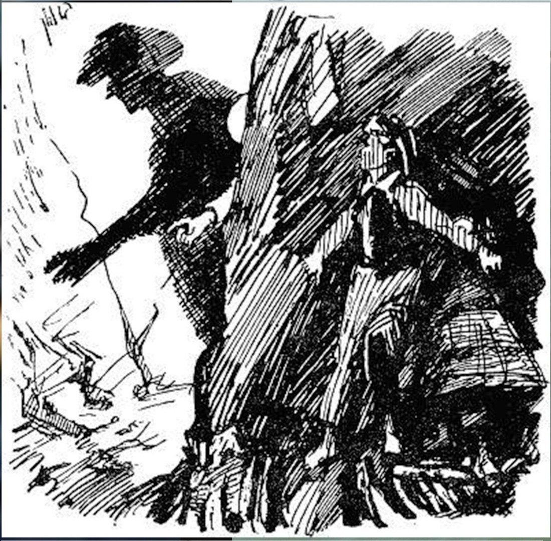 Иллюстрация В. Н. Горяева к пр-ю М.Твена Приключения Тома Сойера (40).