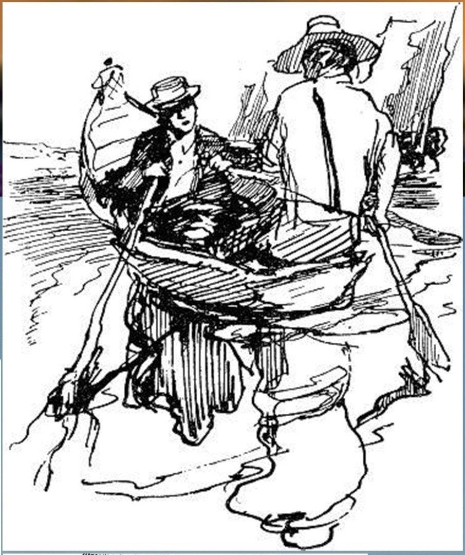 Иллюстрация В. Н. Горяева к пр-ю М.Твена Приключения Тома Сойера (42).