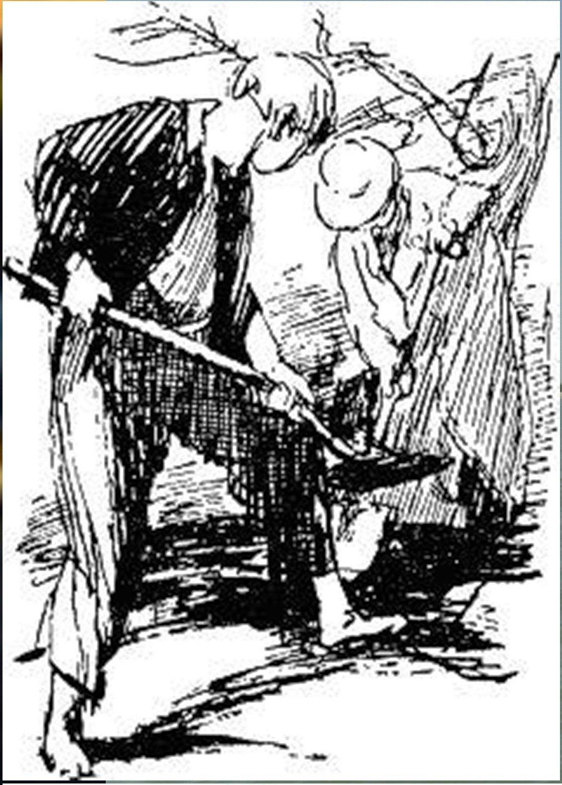 Иллюстрация В. Н. Горяева к пр-ю М.Твена Приключения Тома Сойера (33).