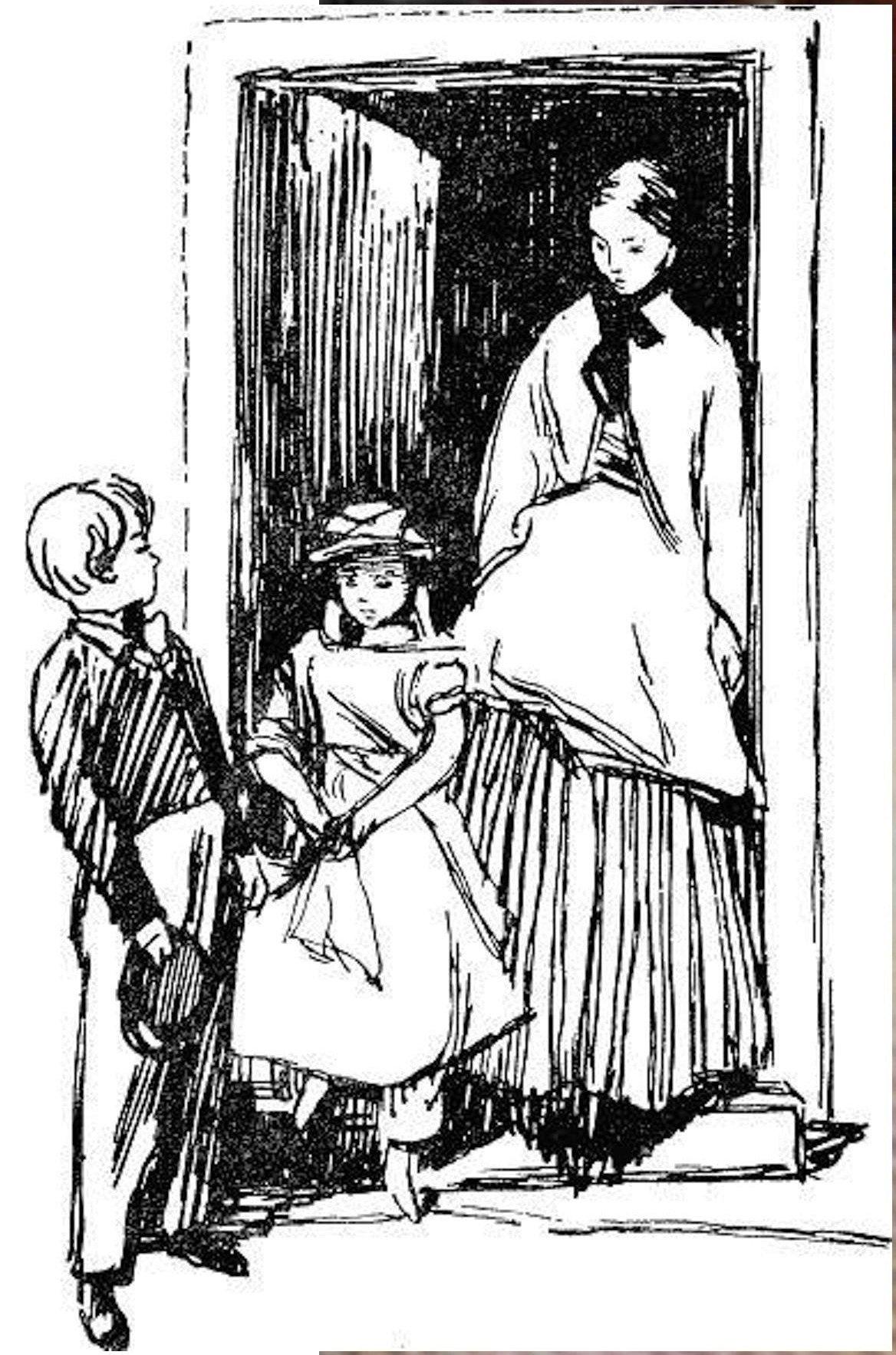 Иллюстрация В. Н. Горяева к пр-ю М.Твена Приключения Тома Сойера (35).