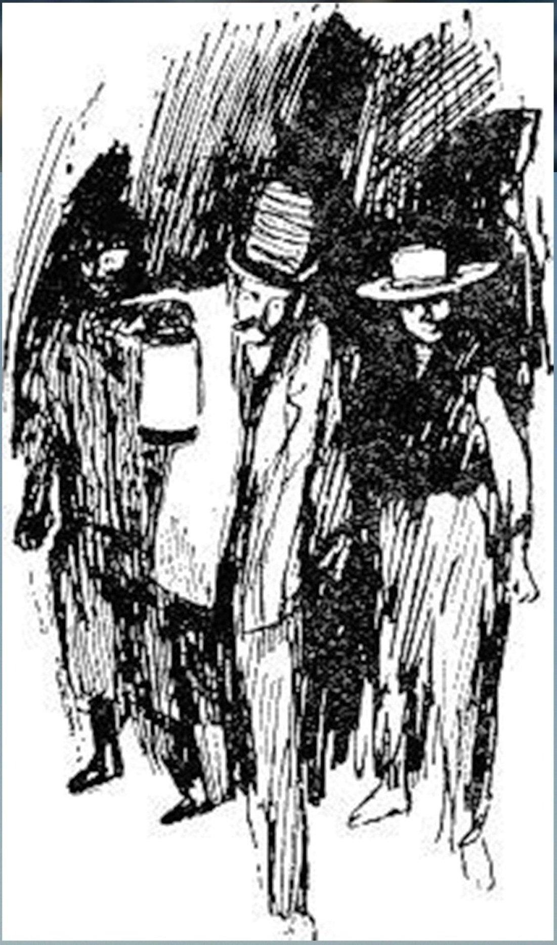Иллюстрация В. Н. Горяева к пр-ю М.Твена Приключения Тома Сойера (36).