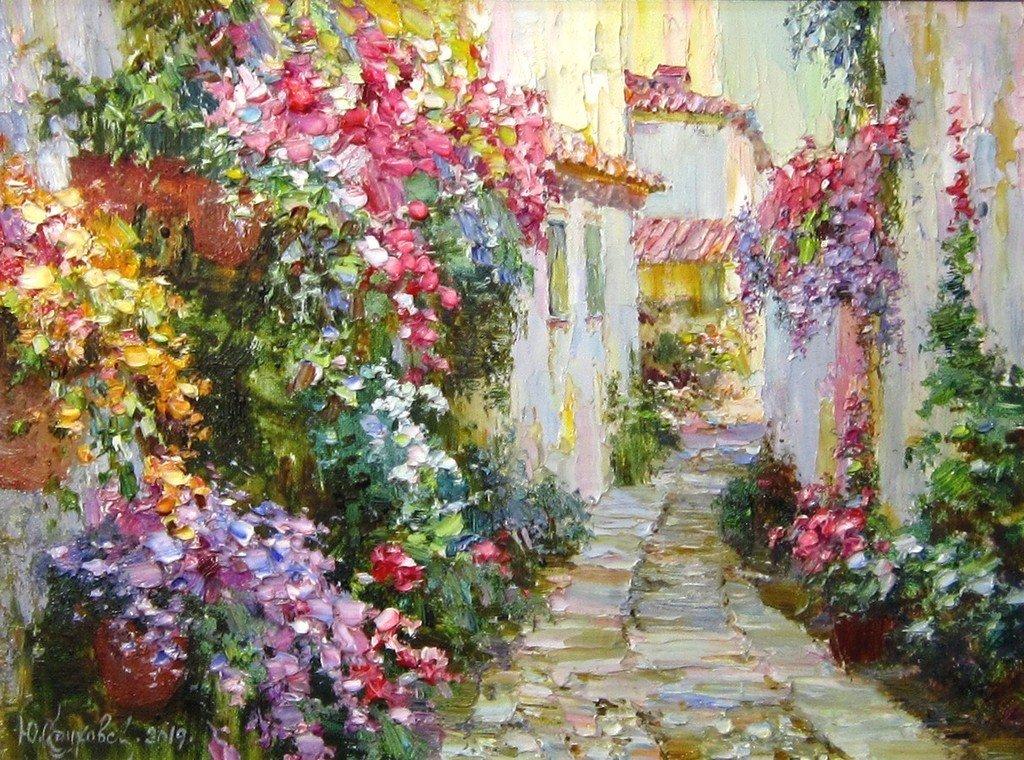 Юрий Обуховский (род. в 1965 году). Улица цветов.