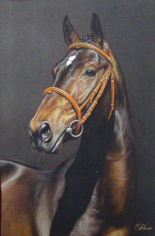 Светлана Андреевна Серая. Лошадь.