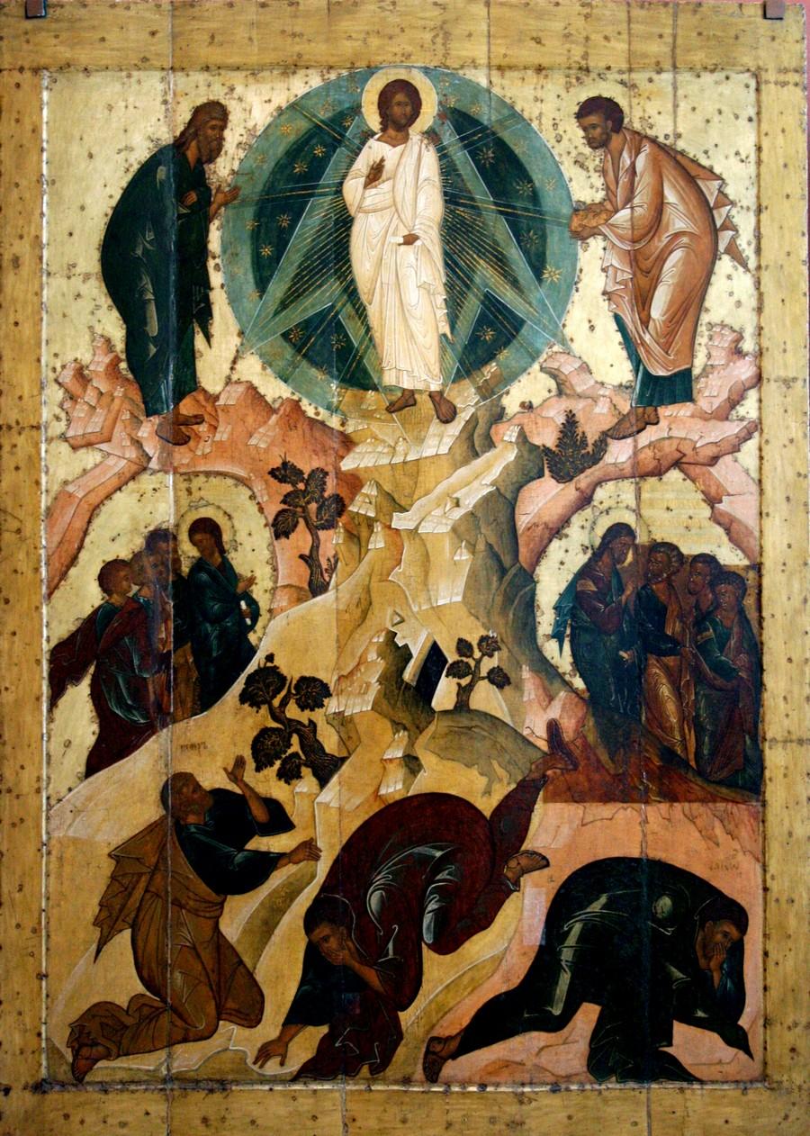 Преображение Господне. Икона. Ярославль, около 1516 года.