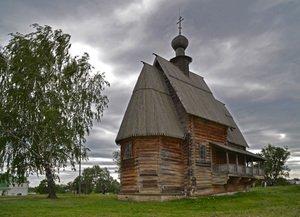 Деревянная церквушка