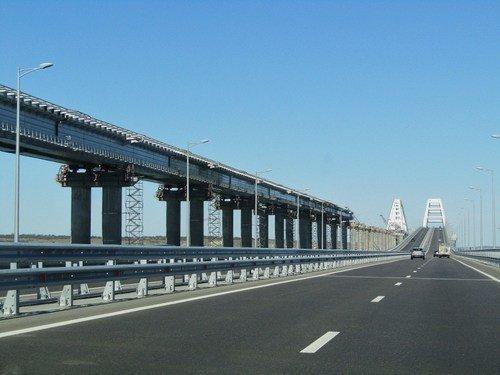 Едем по Крымскому мосту!